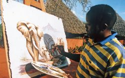 Edwin Selempo - Artist and Safari Guide