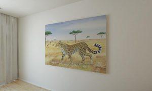 Ed Selempo Cheetah Wall Hanging